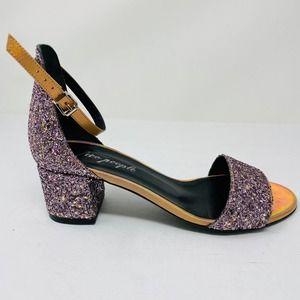 Free People 39 US 9 Marigold Glitter Sandals